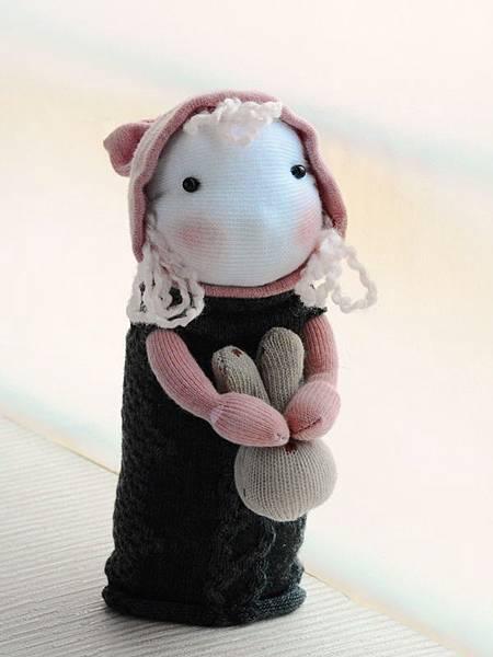 襪子娃娃154號之鄉村小姑娘 (2)