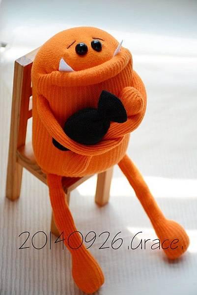 襪子娃娃159號萬聖節的小惡魔 (1)