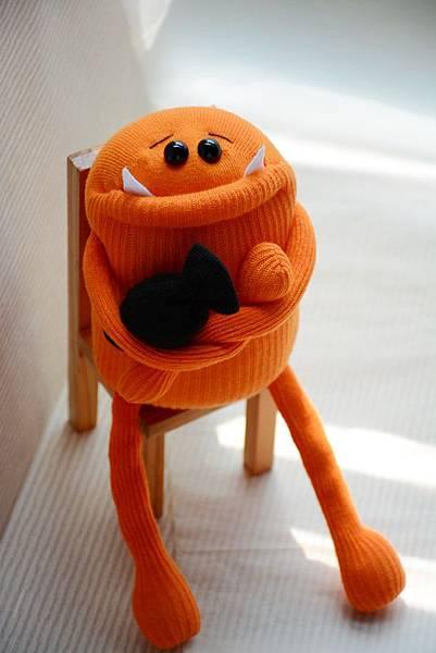 襪子娃娃159號萬聖節的小惡魔 (2)