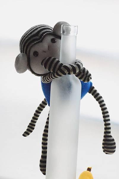 襪子娃娃161號小藍猴 (1)