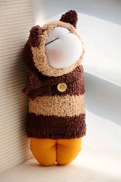 襪子娃娃173號肉鬆起司三角飯糰 (1)