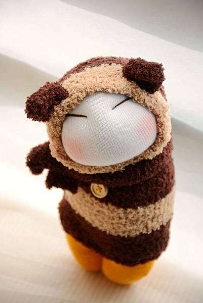 襪子娃娃173號肉鬆起司三角飯糰 (4)