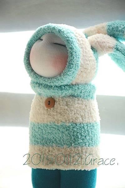襪子娃娃178號之地球遊學的月兔 (4)