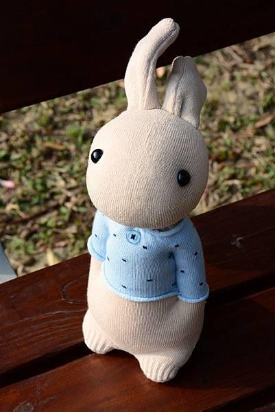 襪子娃娃181號清新暖男兔 (1)