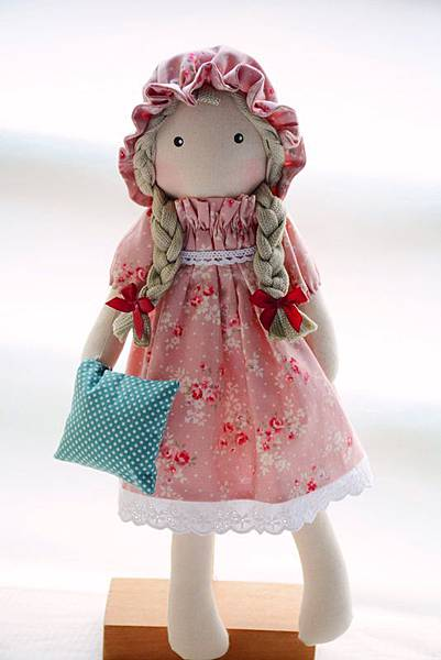 手作布娃娃34號小喬安娜 (1)