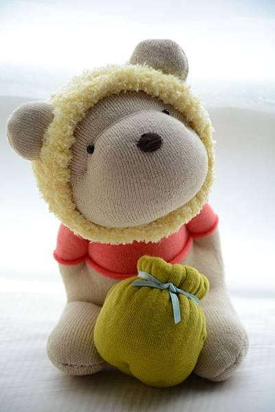 襪子娃娃182號之我不是維尼熊 (2)