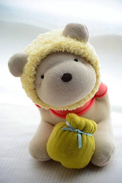 襪子娃娃182號之我不是維尼熊 (3)