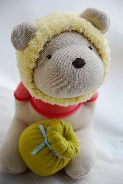 襪子娃娃182號之我不是維尼熊 (4)