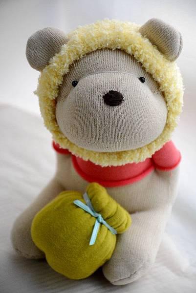 襪子娃娃182號之我不是維尼熊 (5)