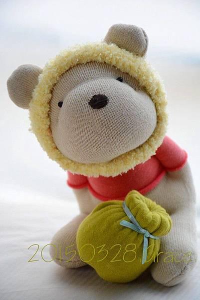 襪子娃娃182號之我不是維尼熊 (6)1