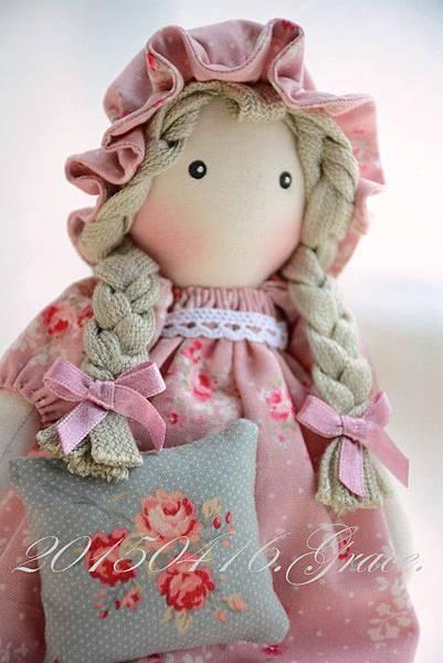 37號手作布娃娃迷你喬安娜 (2)
