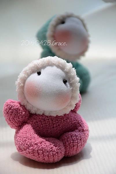 襪子娃娃185+186號小貝比 (5)
