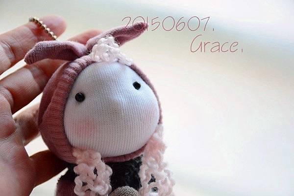 襪子娃娃195號兔耳小姑娘4