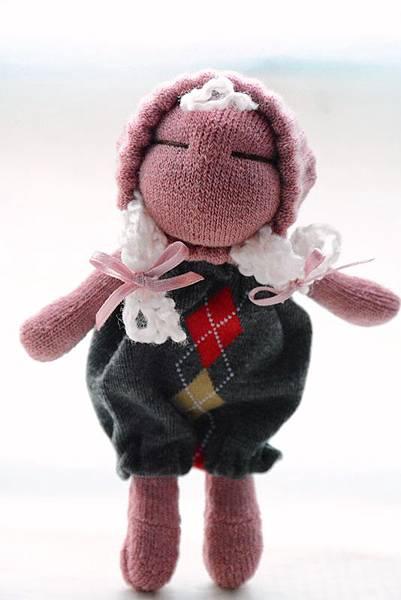 襪子娃娃196號櫻桃粉妹妹 (3)