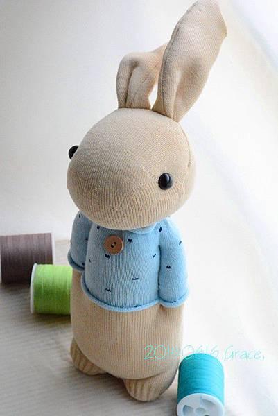 襪子娃娃199號清新暖男兔 (3)1