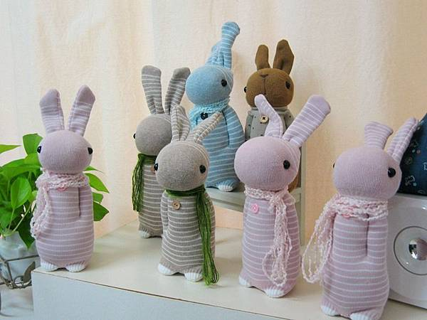 20150630襪子娃娃課台北學員作品 (1)