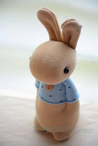 襪子娃娃203號暖男兔 (2)