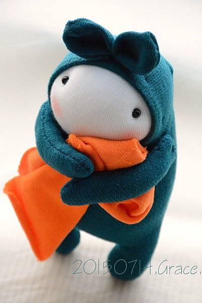襪子娃娃208號之我愛臭被被 (2)1