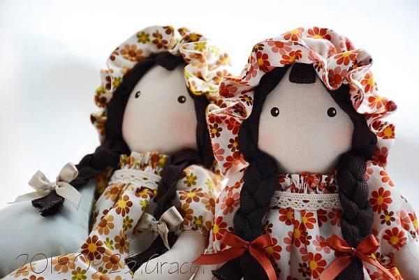 40+41號手作布娃娃菲麗絲姐妹 (2)