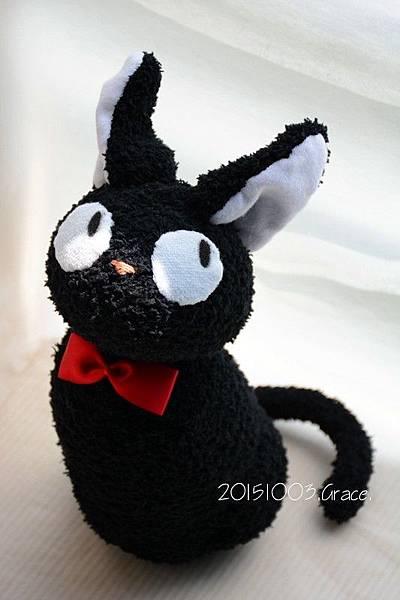 襪子娃娃222號土匪的黑貓 (5)