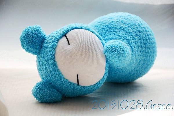 襪子娃娃229號天 藍小肥鼠 (2)