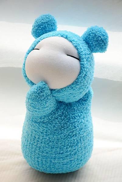 襪子娃娃229號天 藍小肥鼠 (3)