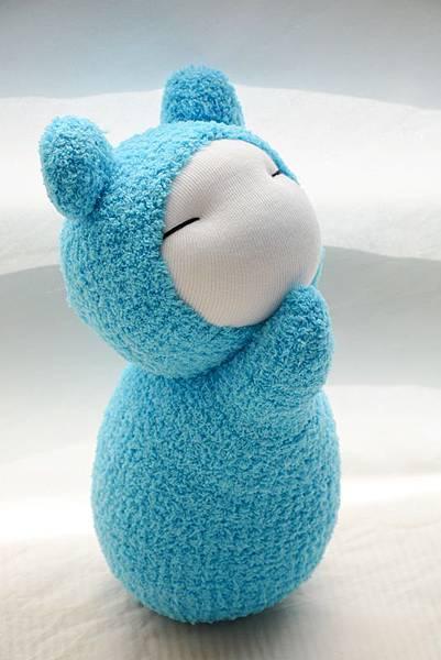 襪子娃娃229號天 藍小肥鼠 (4)
