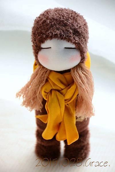 襪子娃娃230號毛靴女孩 (1)