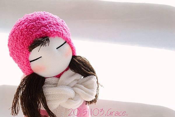 襪子娃娃232號桃紅靴女孩 (4)