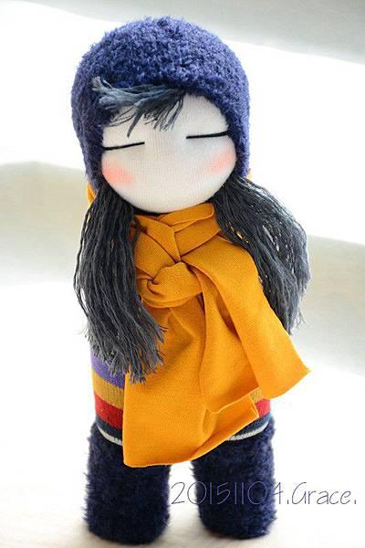 襪子娃娃233號藍靴女孩 (1)