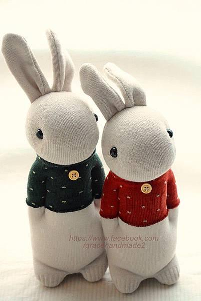 襪子娃娃254+255號點點T兔(1)1