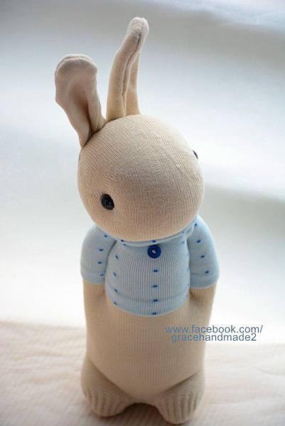 襪子娃娃271號暖男兔