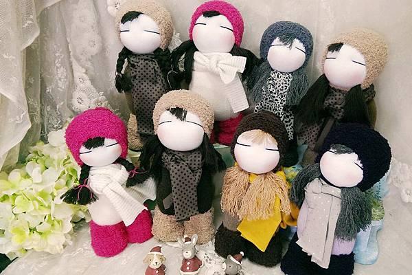 20160510新竹襪娃課學員作品