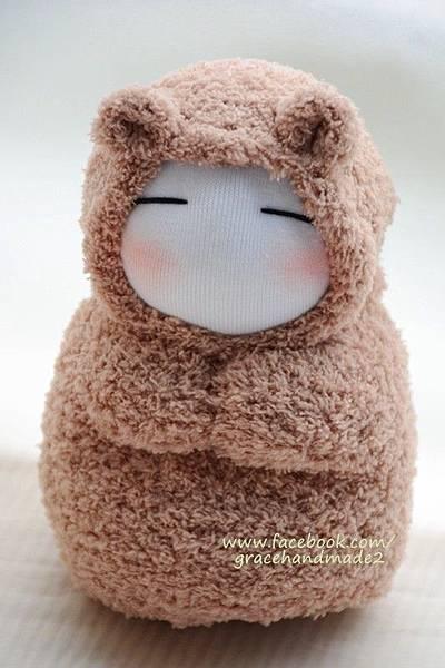 襪子娃娃293號小狐狸 (1)