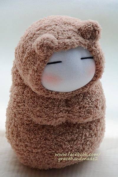 襪子娃娃293號小狐狸 (2)