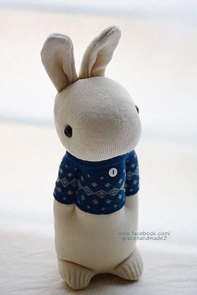 襪子娃娃304號藍T多米兔 (1)1