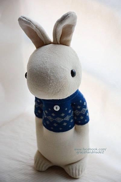 襪子娃娃304號藍T多米兔 (2)1