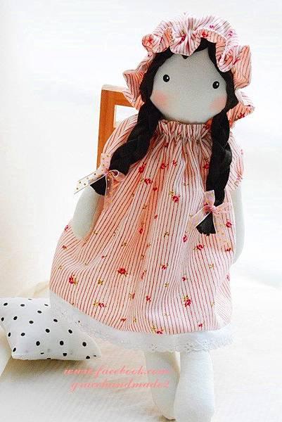 44號手作布娃娃Amy小艾咪 (2)