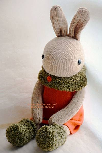 襪子娃娃329號蘿蔔兔 (3)