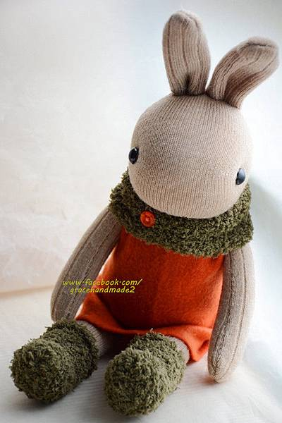 襪子娃娃329號蘿蔔兔 (4)
