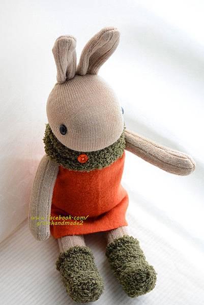 襪子娃娃329號蘿蔔兔 (6)