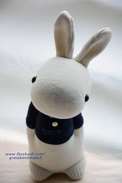 襪子娃娃330愛心T情侶多米兔