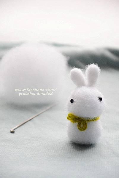 羊毛氈兔子 (1)