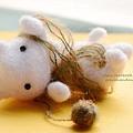 棉花氈小白貓 (1)1