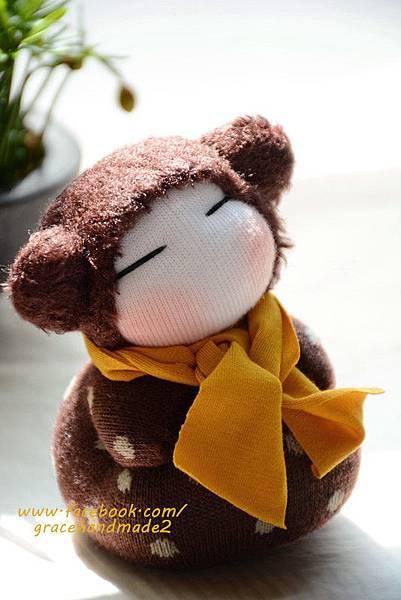 襪子娃娃334號小小米粟鼠 (3)