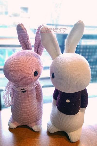 襪子娃娃338+339號多米兔