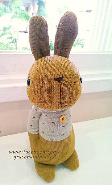 襪子娃娃340號點點T多米兔 (1)