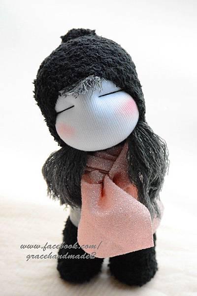 襪子娃娃341號黑靴女孩 (1)