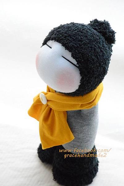 襪子娃娃342號毛靴男孩 (2)