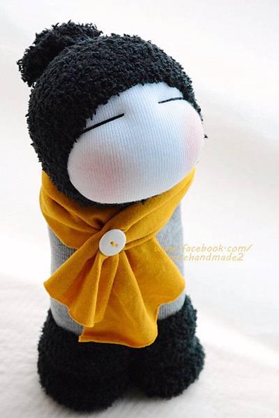 襪子娃娃342號毛靴男孩 (3)